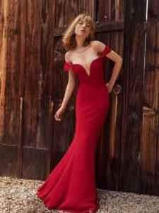 Mermaid-red-dress