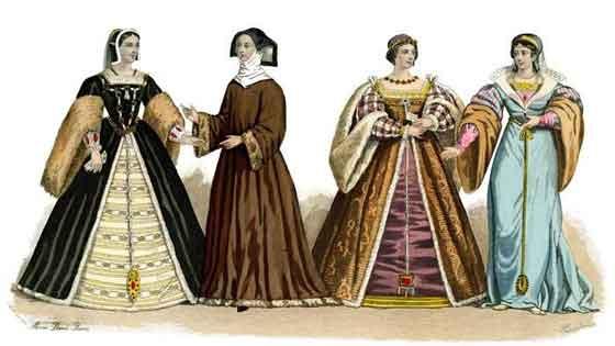 Renaissance-women's-clothing