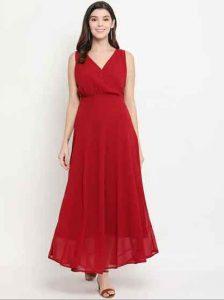 Solid-maxi-dress